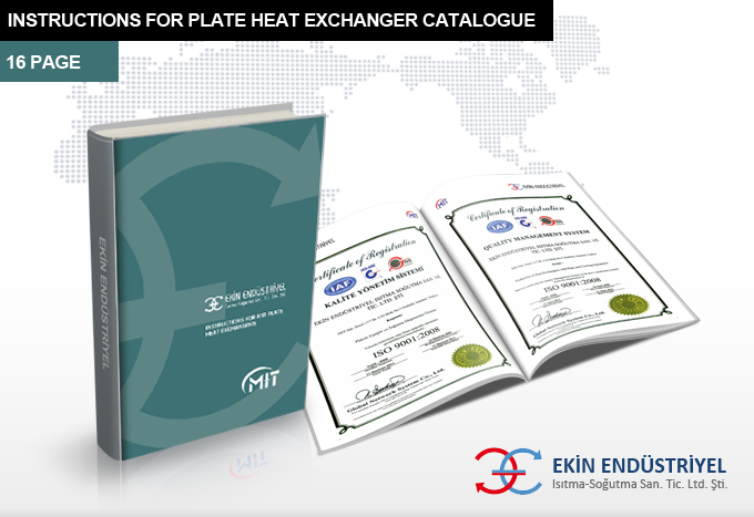 Instructions For Plate Heat Exchanger Catalogue